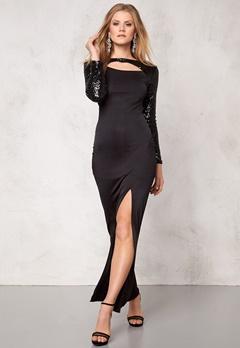 Sisters Point Embra dress Black/Black Bubbleroom.se