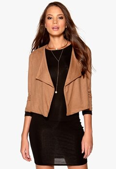 Sisters Point Gaya blazer Taupe Bubbleroom.se