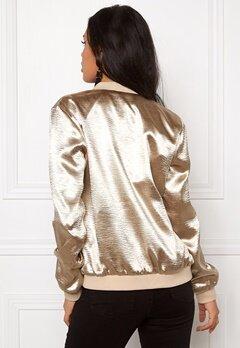 Sisters Point Gusha Me Jacket Gold Bubbleroom.se