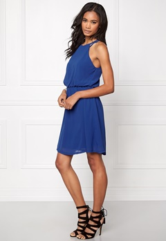 Sisters Point WD-28 Short Dress Royal Blue Bubbleroom.se