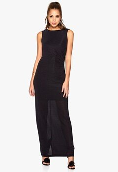 SOAKED IN LUXURY Dea Maxi Dress Black Bubbleroom.se