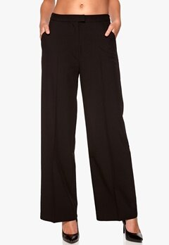 SOAKED IN LUXURY Farrah Pant Black Bubbleroom.se