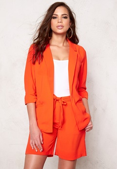 SOAKED IN LUXURY Shirley Blazer Tangerine Bubbleroom.se