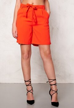 SOAKED IN LUXURY Shirley Shorts Tangerine Bubbleroom.se
