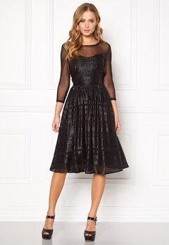 SOAKED IN LUXURY Vogue Dress Black Bubbleroom.se