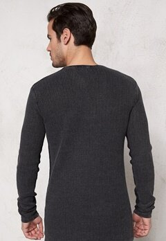 Solid Arlen Knit 9000 Black Bubbleroom.se