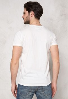 Solid Banner T-shirt 0104 Off White Bubbleroom.se