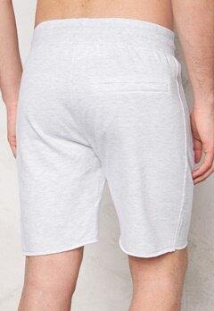 Solid Bard Shorts 8010 Fog Grey Bubbleroom.se