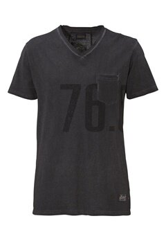 Solid Derring T-shirt 2958 Jet Black Bubbleroom.se