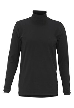 Solid Doyle T-Shirt 9000 Black Bubbleroom.se