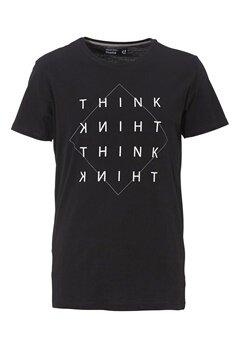 Solid Drew T-Shirt 9000 Black Bubbleroom.se