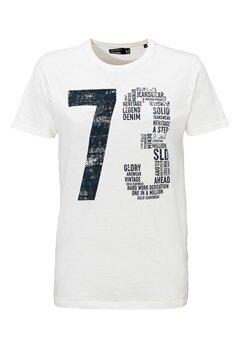 Solid Elif T-shirt 0104 Off White Bubbleroom.se