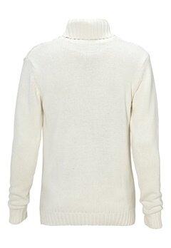 Solid Elmer Knit 0050 Milky White Bubbleroom.se
