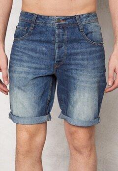 Solid Farrell Shorts 9070 Light Denim Bubbleroom.se