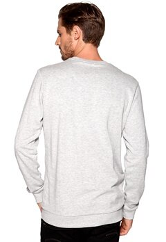 Solid Roxas Sweat 8242 Lig Grey Bubbleroom.se