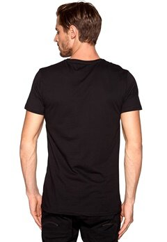 Solid Rykken T-shirt 9000 Black Bubbleroom.se