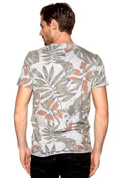 Solid Rylee T-shirt 8242 Lig Grey Bubbleroom.se