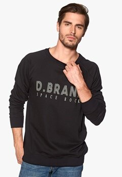 D.Brand Space Rock Sweatshirt Black Bubbleroom.se