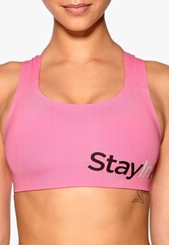 Stay In Place Active Sports Bra A/B Bright Rose Bubbleroom.se