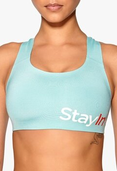 Stay In Place Active Sports Bra A/B Ice Turquoise Bubbleroom.se