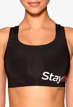 Stay In Place Active Sports Bra C/D 01 Black Bubbleroom.se