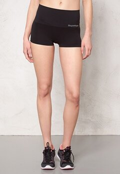Stay In Place Line Seamless High Boxer Black Bubbleroom.se