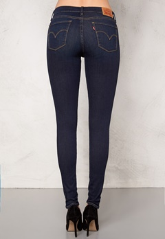 LEVI'S Super Skinny Jeans Denim Deepend 0007 Bubbleroom.se