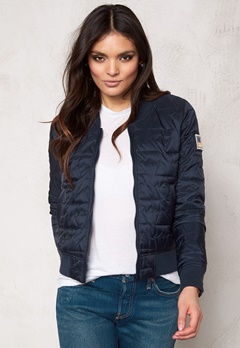 Svea Cara Jacket Navy Bubbleroom.se