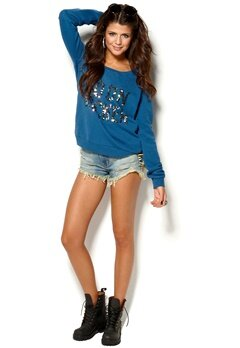 MAISON SCOTCH Sweater Blue Bubbleroom.se