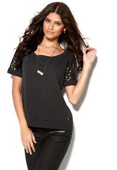 MAISON SCOTCH Sweater Washed Black Bubbleroom.se