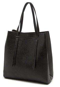 Pieces Taffy Shopping Bag Black Bubbleroom.se