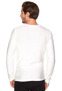 Tailored & Original Caddonfoot Knit 0104 Off White Bubbleroom.se