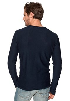 Tailored & Original Caddonfoot Knit 1991 Insignia Blue Bubbleroom.se