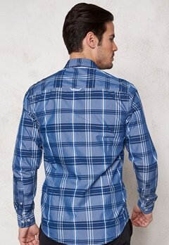 Tailored & Original Fullham Check Shirt 1741 Dark Blue Bubbleroom.se