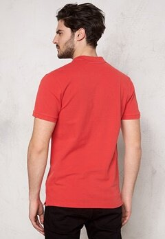 Tailored & Original Kington T-shirt 4172 Tomato Bubbleroom.se