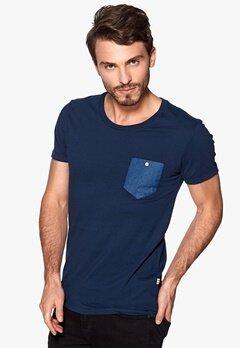Tailored & Original Methil T-shirt 1991 Insignia Blue Bubbleroom.se