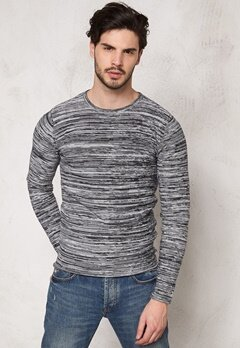 Tailored & Original Ramsgate Knit 2958 Jet Black Bubbleroom.se