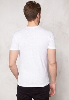 Tailored & Original Riverstown T-shirt 0001 White Bubbleroom.se