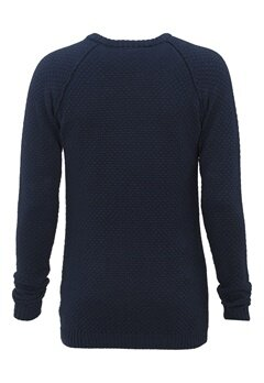 Tailored & Original Salthill Knit 1991 Insignia Blue Bubbleroom.se
