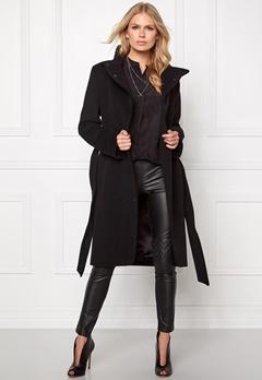 TIGER OF SWEDEN Floy Wool Coat 08N Night Black Bubbleroom.se