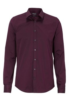 TIGER OF SWEDEN Steel 8 Cotton Shirt 56B Wine Bubbleroom.se