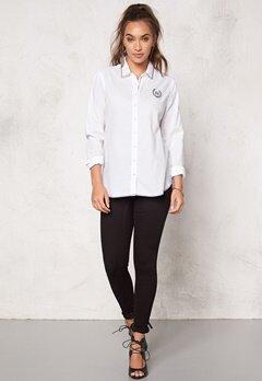 TOMMY HILFIGER Damira Heritage Shirt 100 Classic White Bubbleroom.se