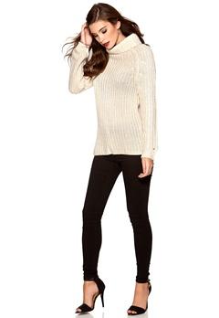TOMMY HILFIGER DENIM Femke Sweater Egret Bubbleroom.se