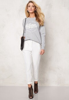 TOMMY HILFIGER DENIM Knit 038 Lt Grey Bubbleroom.se