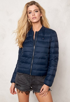 TOMMY HILFIGER DENIM Light Down Bomber 416 Navy Blazer Bubbleroom.se