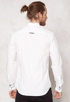 TOMMY HILFIGER DENIM Lorenzo shirt 003 Egret-pt Bubbleroom.se