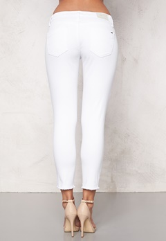 TOMMY HILFIGER DENIM Mid Rise Slim Naomi 177 White Stretch Bubbleroom.se