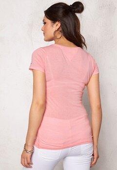 TOMMY HILFIGER DENIM S/S T-Shirt 646 Powder Pink Bubbleroom.se
