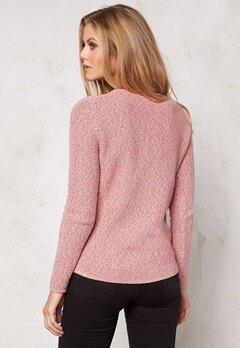 TOMMY HILFIGER Ilka Marl Sweater 901 Baroque Rose Bubbleroom.se