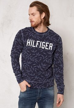 TOMMY HILFIGER Leaf Sweater 416 Navy Blazer Bubbleroom.se